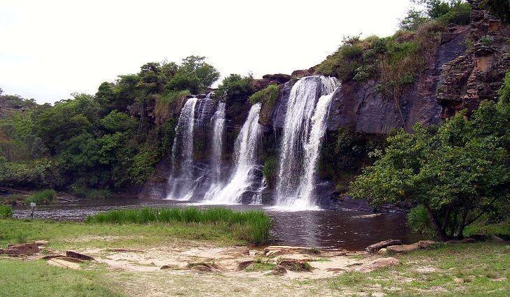 Cachoeira Da Fumaça, Carrancas