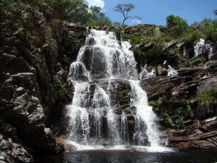 Cachoeira Do Tombador   Parque Nacional Da Serra Do Cipó