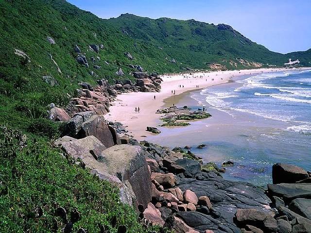 Praia Da Galheta, Florianópolis, Santa Catarina