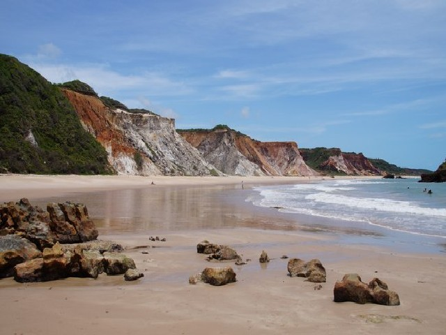 Praia De Tambaba, Conde, Paraíba