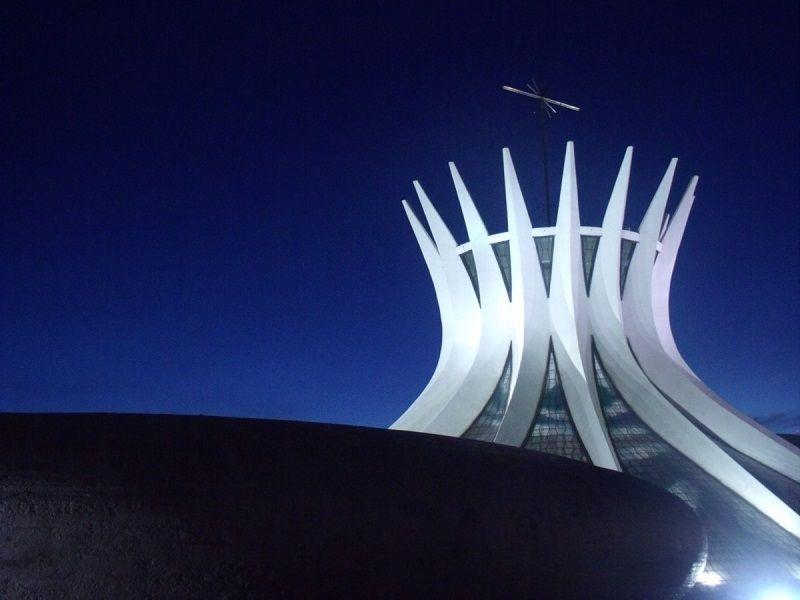 Turismo Capitais Conheca Brasilia Catedral Metropolitana De Nossa Senhora Aparecida