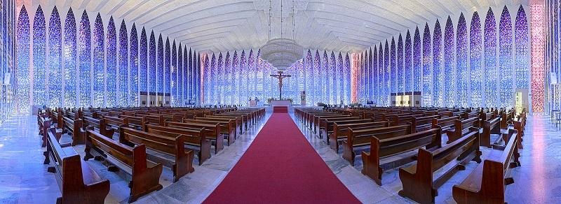 Turismo Capitais Conheca Brasilia Santuario Dom Bosco