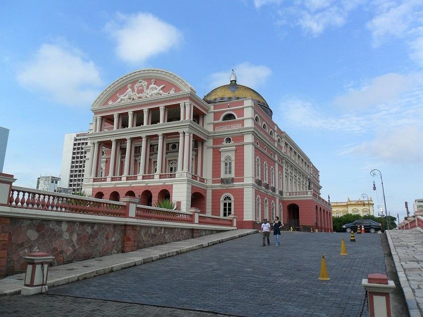 Turismo Capitais Manaus Teatro Amazonas