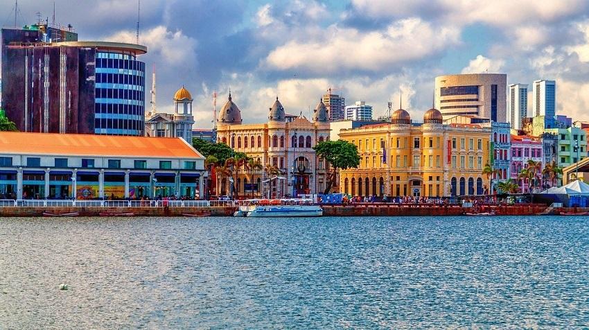 Turismo Capitais Recife Maro Zero