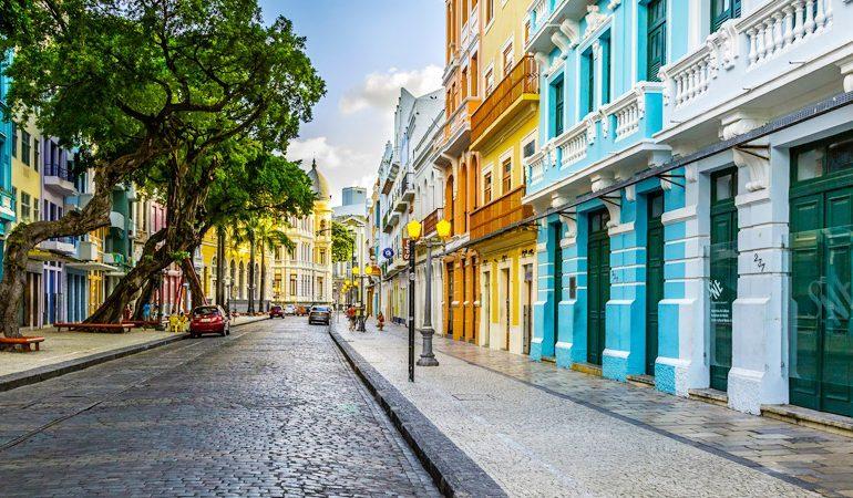 Turismo Capitais Recife Parte Historica