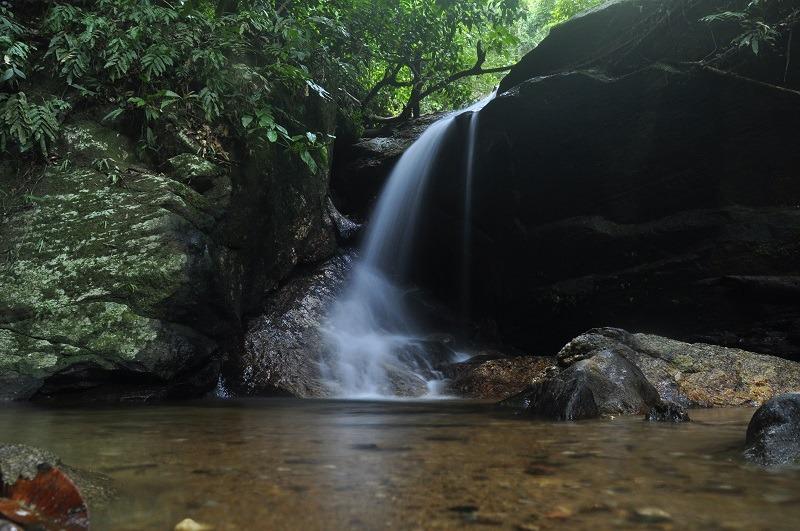 Essa queda se encontra numa trilha um pouco mais acima da cachoeira do Horto, subindo a estrada em direção a Vista Chinesa.