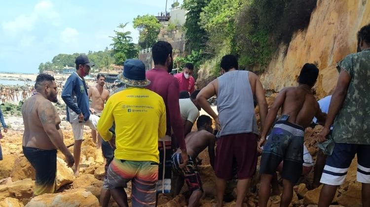 Falesia Desaba Praia Pipa