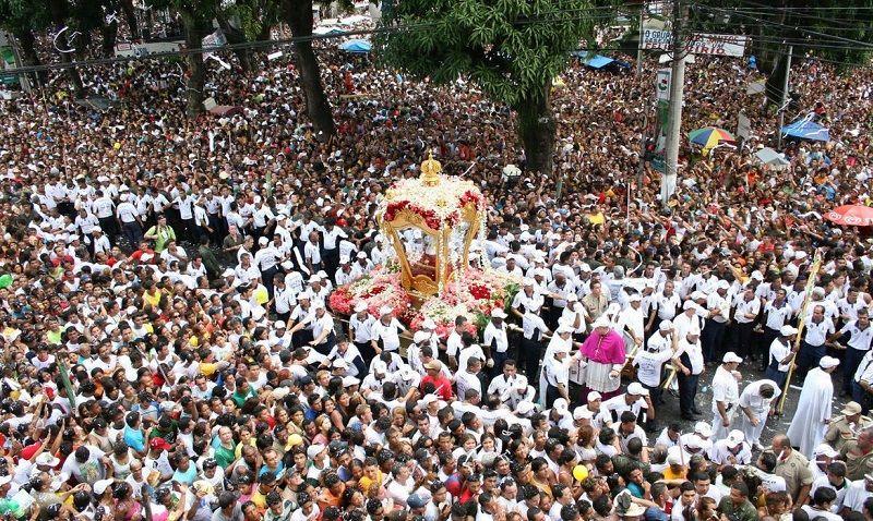 Festa Religiosa Cirio De Nazare Em Belem