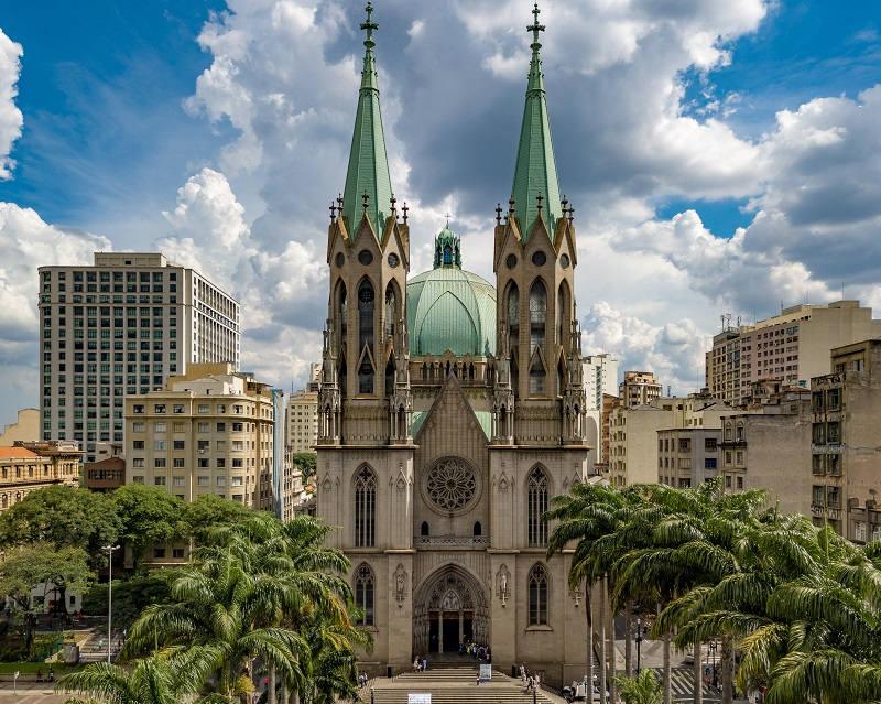 Churches Sao Paulo Catedral Da Se SP