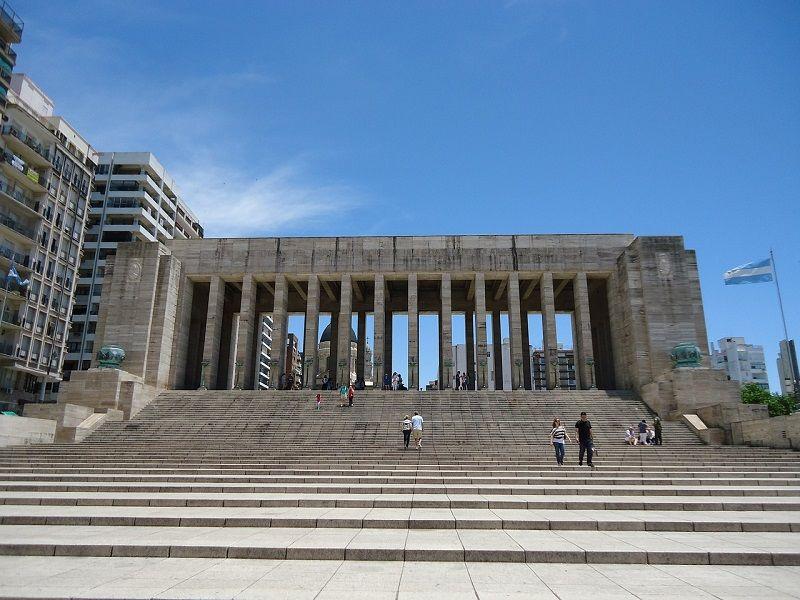 Rosario Argentina Monumento A Bandeira