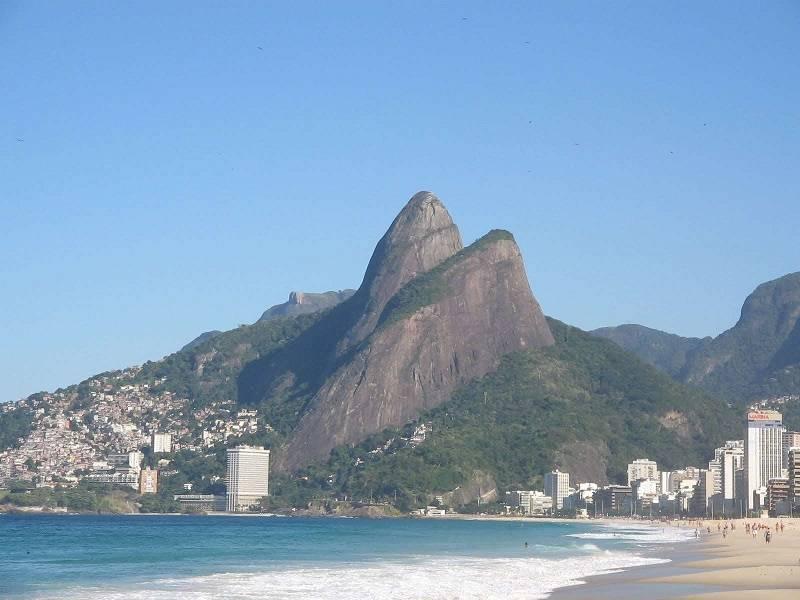 Vista Trilha Morro Dois Irmaos Rio De Janeiro