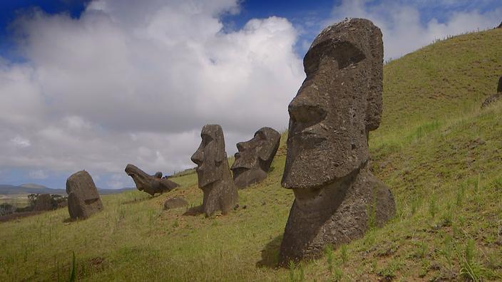 Ilha De Pascoa Estatua Moai Rapa Nui