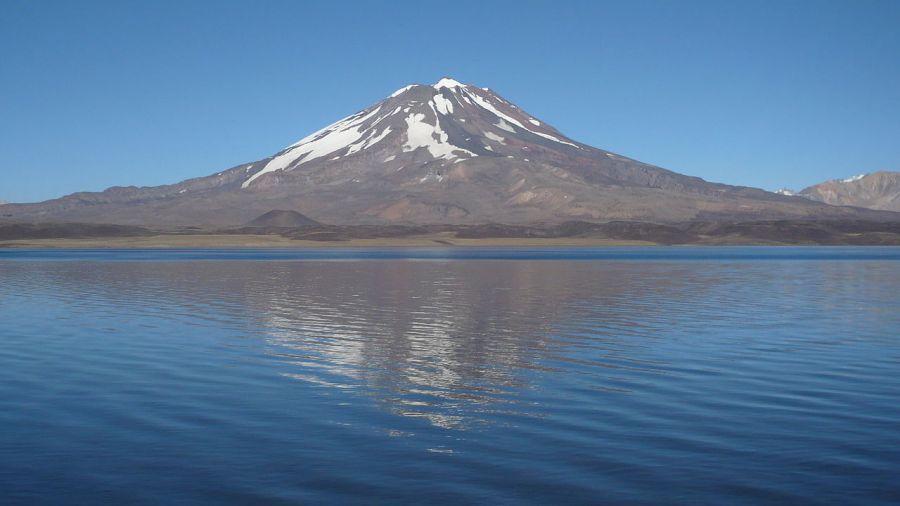Vulcao Maipu Chile