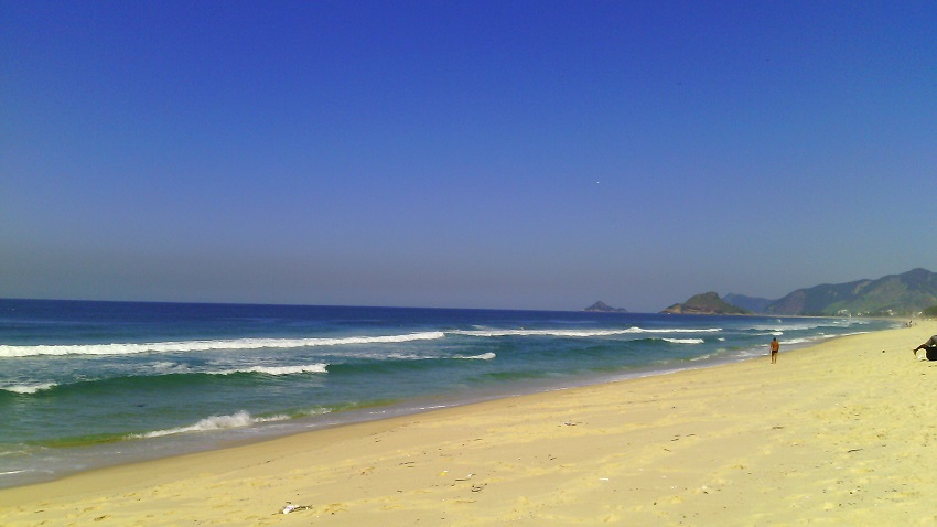 Praia Da Resrva No Rio De Janeiro, zona oeste, Barra da Tijuca