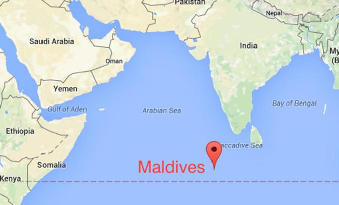 Onde Fica Maldivas