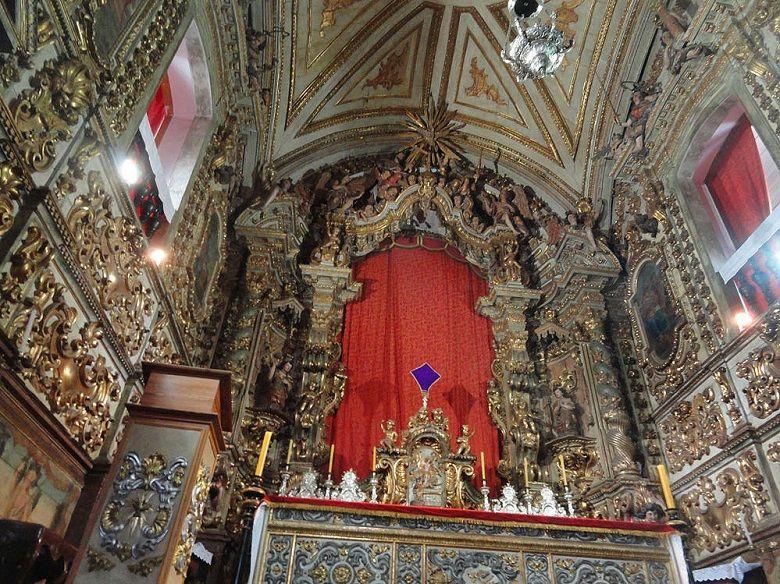 Altar CCatedral Basílica de Nossa Senhora do Pilar