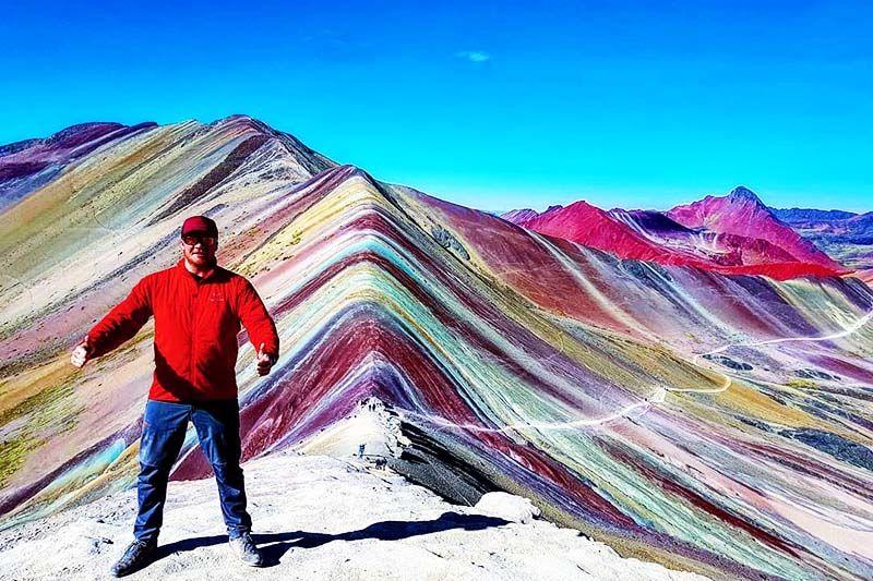 Montanha 7 Colores Cusco Peru Com Filtro