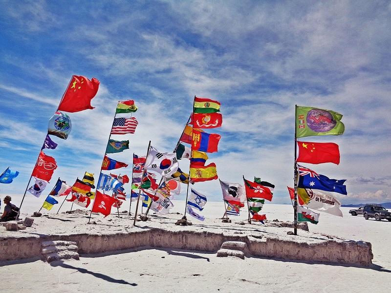 Bandeira Salar De Uyuni