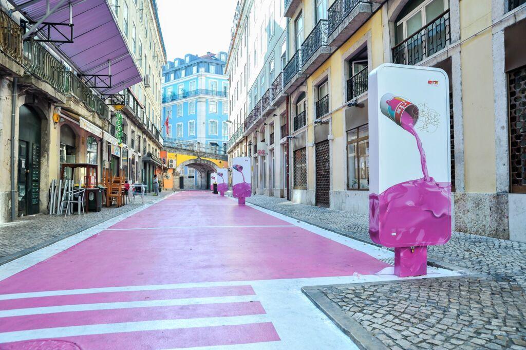 O que fazer em Lisboa - A Rua Cor De Rosa