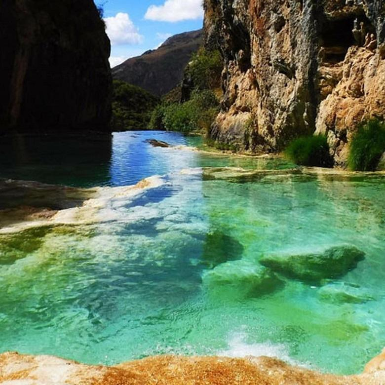 Turquoise Waters Of Millpu