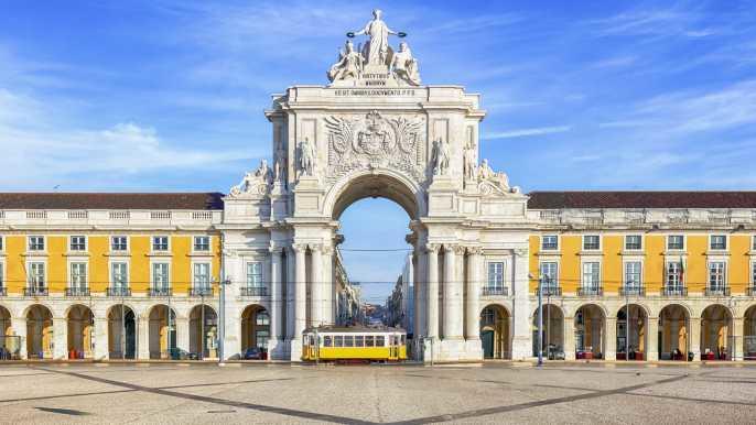 Tourist Bus in Lisbon
