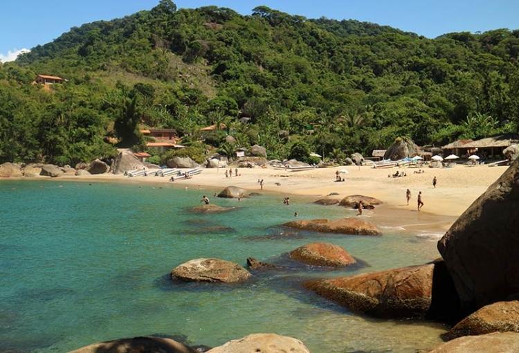 Ponta Da Juatinga Beach in Paraty RJ