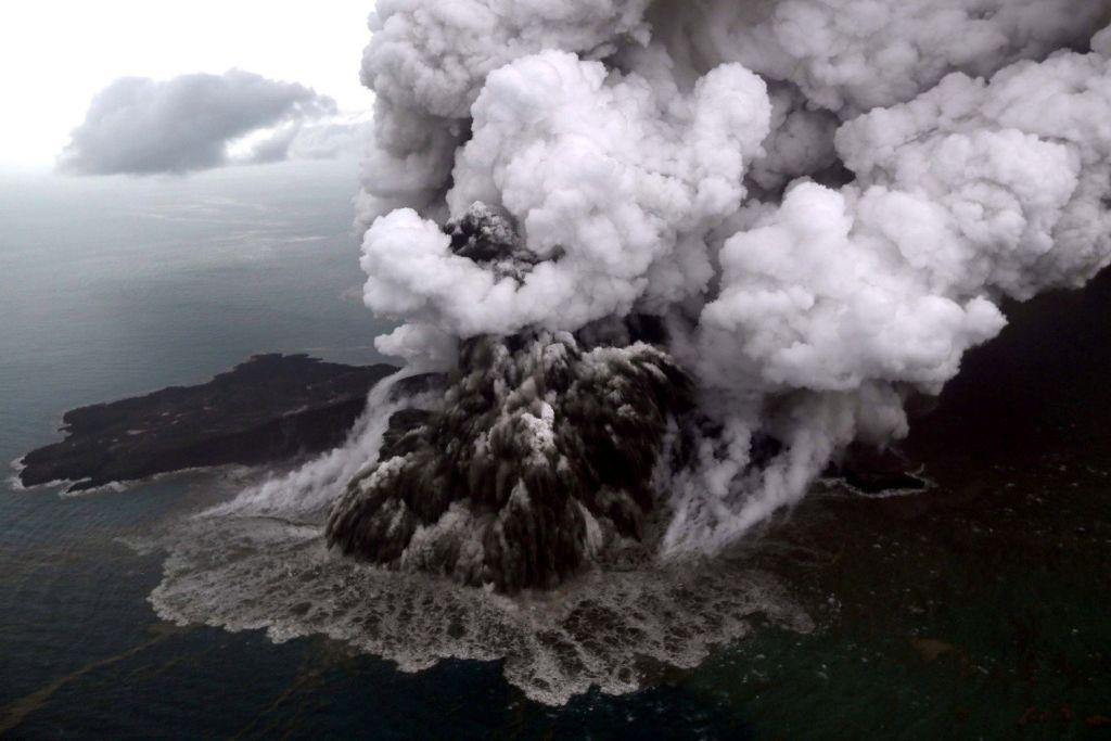 Krakatoa Volcano