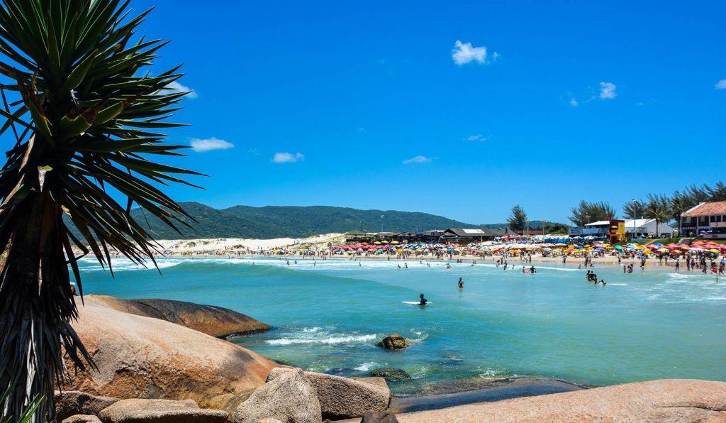 Praia Da Joaquina Em Florianópolis