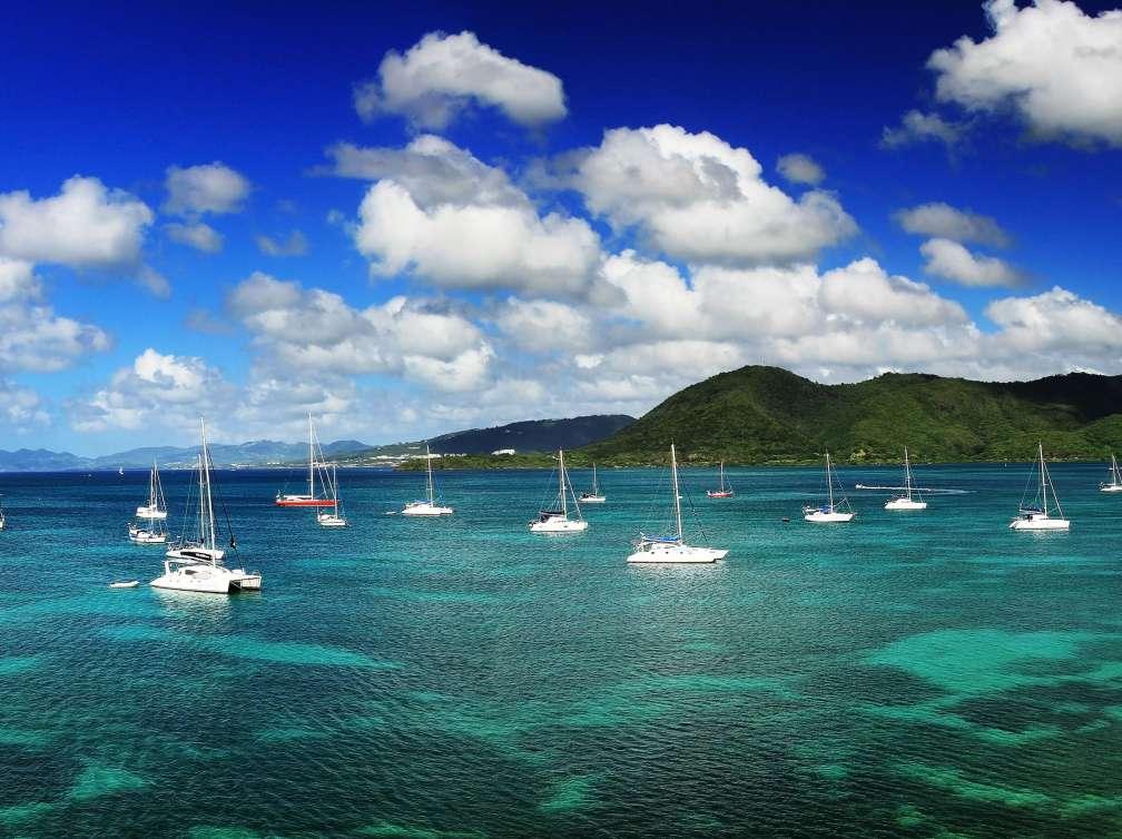 Principais Locais Da Ilha De Martinica